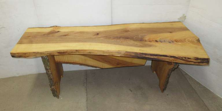 Live Edge Elm Coffee Table or Bench