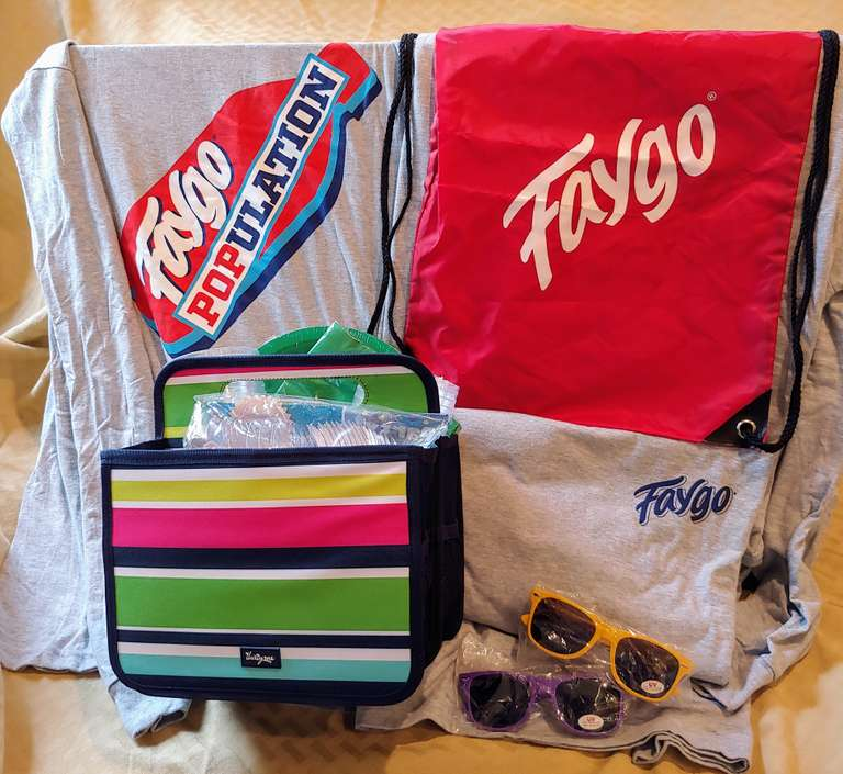 Faygo Picnic Package, Includes a Thirty-One Mini Tote