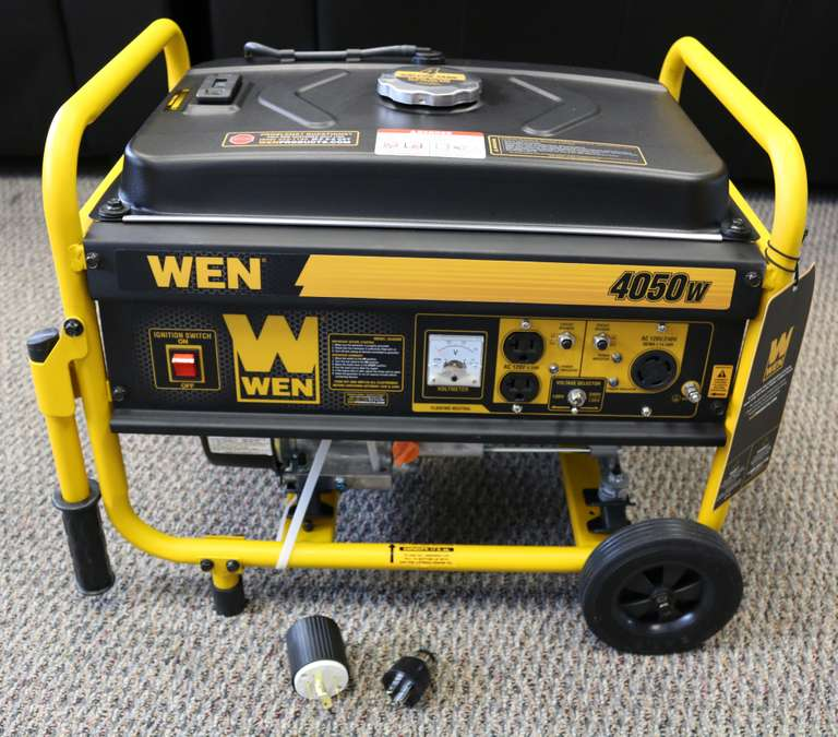 WEN 3,500 Running 4,050 Starting Watt Gasoline Portable Generator
