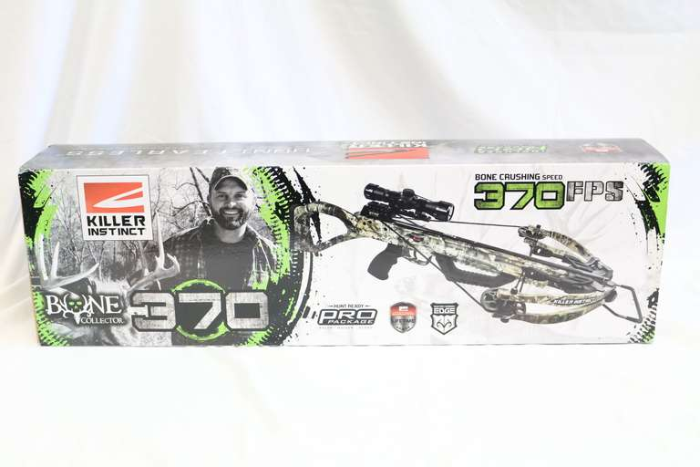Killer Instinct Bone Collector 370 Crossbow By Hunt Fearless