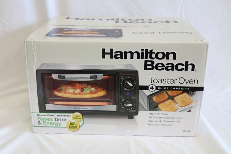 Hamilton Beach Four-Slice Toaster Oven
