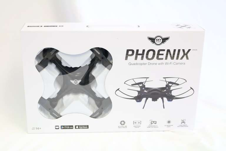 Sky Rider Phoenix Quadcopter Drone with WiFi Camera