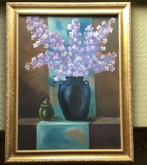 Original Painting of Vase