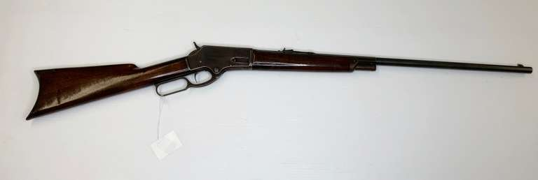Marlin 1881 Manufactured in 1887, 38-55 Caliber, 75% Wood, 80% Metal, 100% Bore Special Order Rifle 1/2 Octagon, 1/2 Round, 1/2 Mag