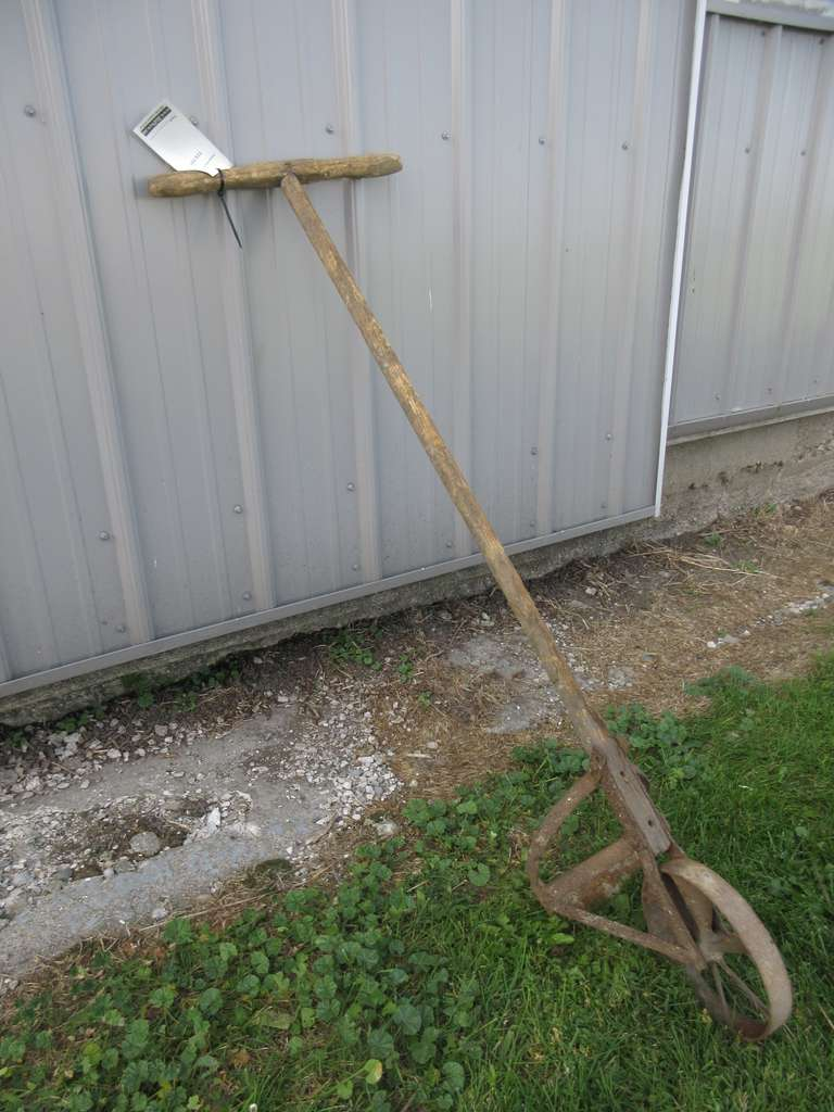 Small Antique Walking Garden Tool