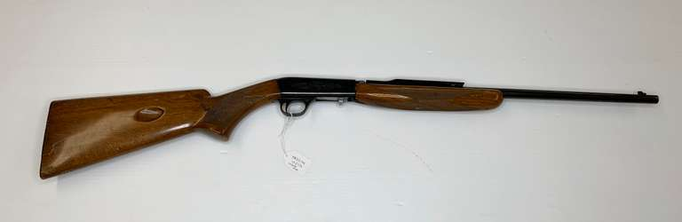 Browning .22 Auto Rifle Made in Belgium with Case, Scope, and Shoulder Strap