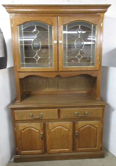 Two-Piece China Hutch