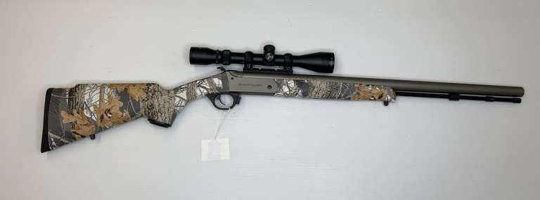Traditions Buckstalker .50 Caliber Muzzleloader with 3-9x40 Scope