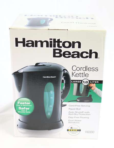 1.8 Liter Hamilton Beach Electric Kettle