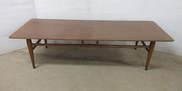 Mid-Century Modern Teak Wood Coffee Table
