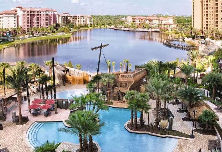 1 Week Stay At Club Wyndham Bonnet Creek-Orlando Florida, March 28, 2021-April 4, 2021: 2 Bedroom Unit Sleeps 8
