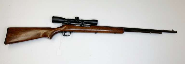 Savage Model 6A .22LR Short and Long Rifle with 4x Bushnell Scope