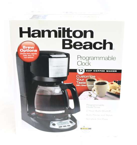 Hamilton Beach Programmable 12-Cup Coffee Maker