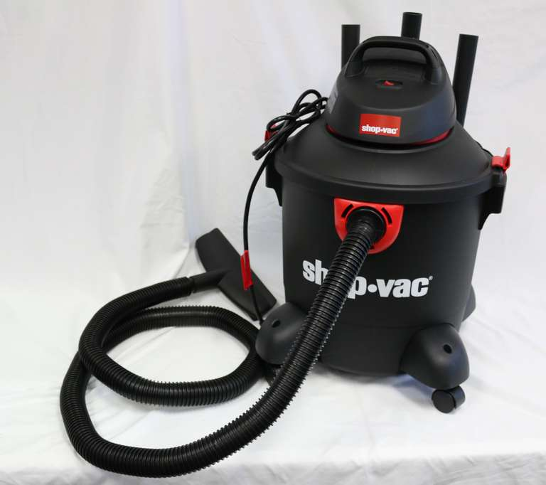 Eight-Gallon Shop-Vac, 3.0 Peak HP Wet/Dry Vacuum