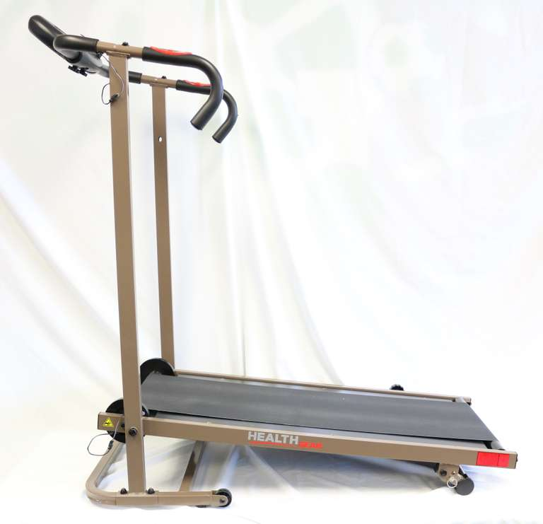 Health Gear Manual Treadmill With Pulse Monitoring