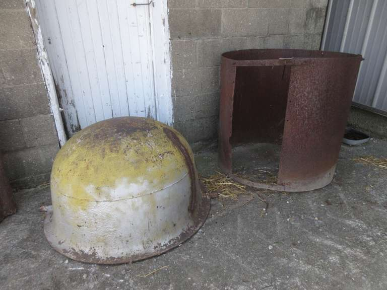 "Scalding Kettle with Stand/Welded Repair, Approx. 36"" Diameter"