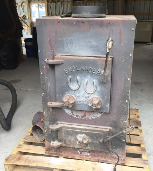 "Englander Wood and Coal Furnace with Blower, 24""W x 30""L x 40""H, Good Condition, Seller will Load on Buyer's Truck/Trailer"