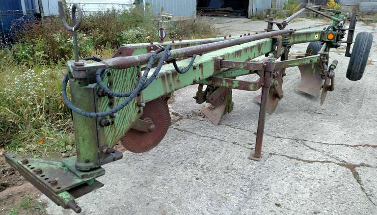 "John Deere F1350-F1450 4-16"" Wide Bottom Plow, Has Not Been Used in Years, Good Condition"