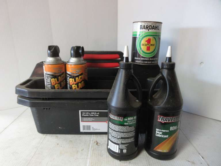 (2)-Storage Caddies and Miscellaneous Liquids