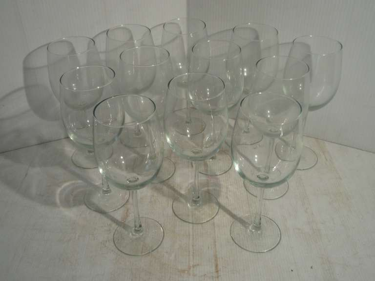 (12)-Large Wine Glasses