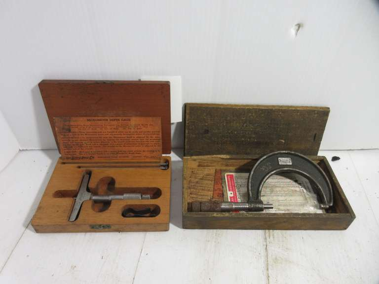 Lufkin Depth Gage and Lufkin Micrometer