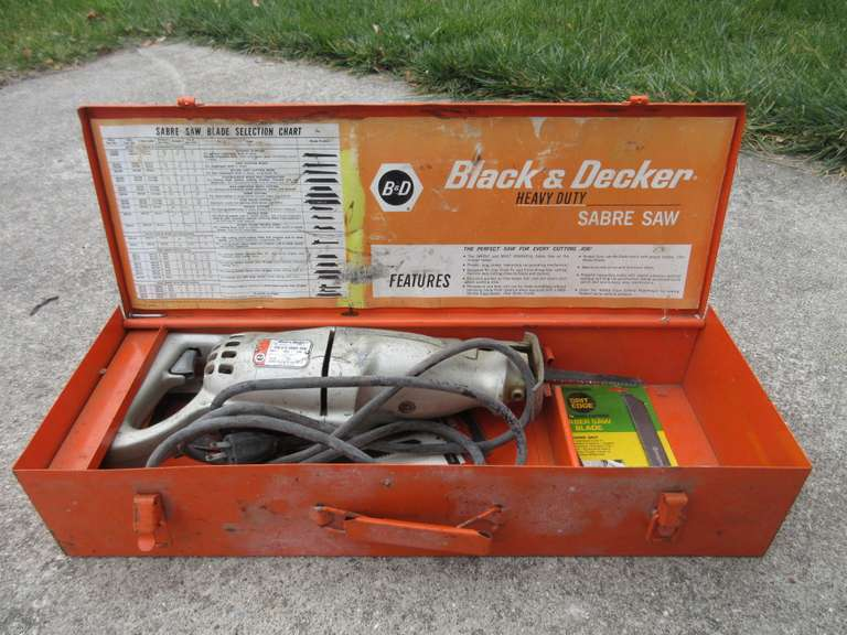 Black & Decker H.D. Sabre Saw, Works