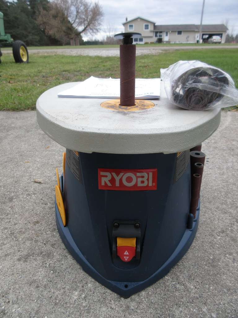 Ryobi Oscillating Spindle Sander with Manual, Good Working Condition