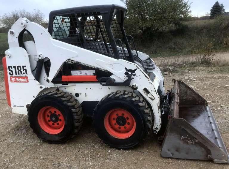 "2008 Bobcat S185, (1974 Hours), 72"" Bobcat Brand Bucket with Flippable Cutting Edge, Still on First Side, Foot Control Machine, 12-16.5 Tires, Has the Nicer Suspension Seat, Well Taken Care of, Hydraulic Quick Attach, Backhoe Attachment Hooks, Serviced from Top to Bottom with All New Fluids and Filters at 1857 Hours, Second Owner (First Owner was my Father), Always Housed, Very Nice Machine, Great Condition for Year with Low Hours"
