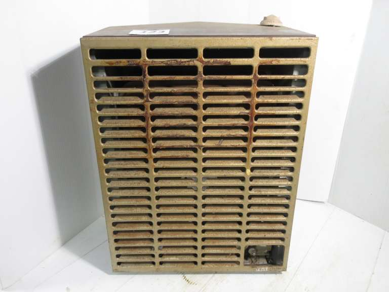 "Gas Wall Heater, Thought to be Propane, 16"" x 9 1/2"" x 21 1/2"" High"