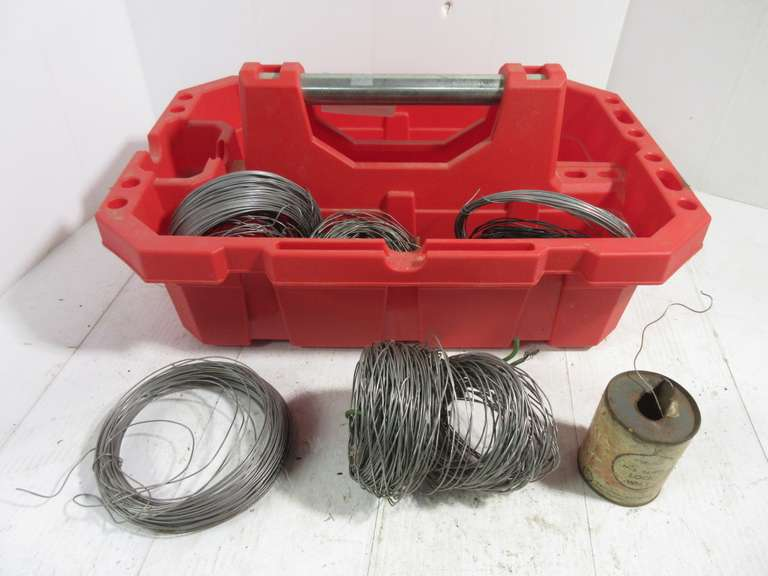 Various Rolls of Wire