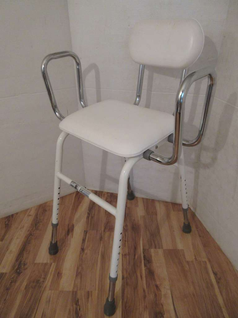Tall Adjustable Height Shower Chair