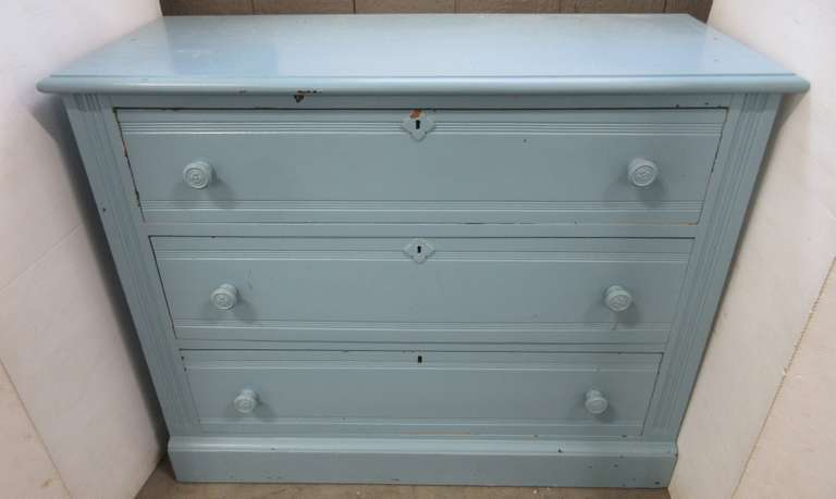 Small Solid Wood Painted Dresser