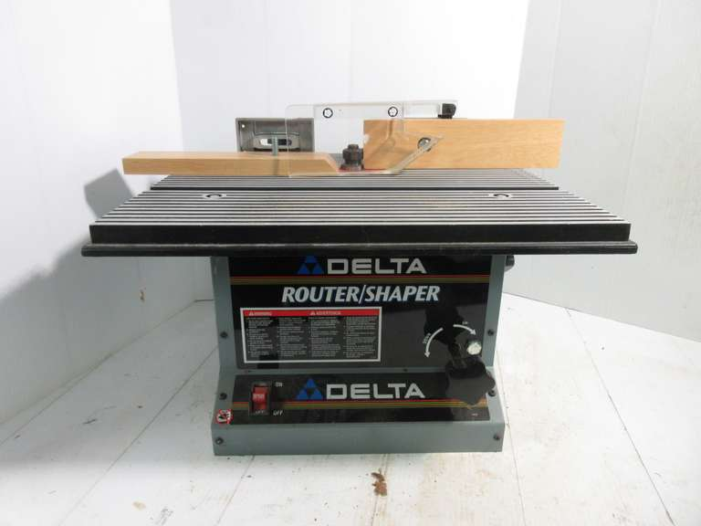 Delta Router/Shaper, Model 43-505, 120 Volt