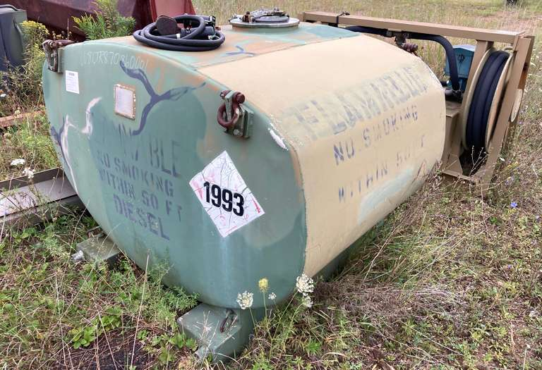 600-Gallon Aluminum Fuel Tank with Pumping System
