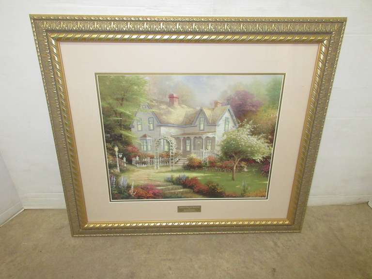 """Home is Where the Heart Is II"" by Thomas Kinkade, Library Edition"