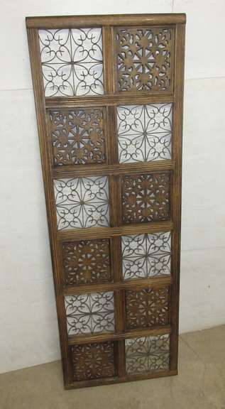 Wood Wall Art, Matches Lot No. 12