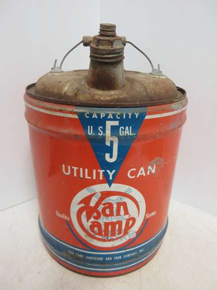 Van Camp's Five-Gallon Gas Can