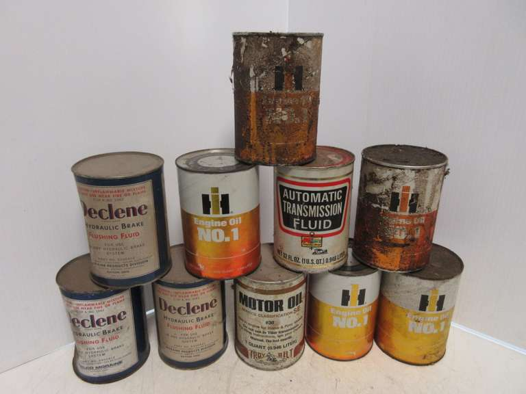 (10) Various Oil Cans