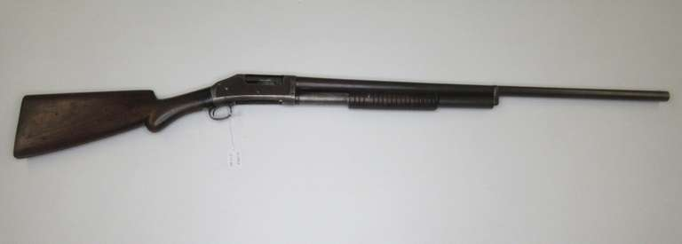 Winchester Model 1897 12-Gauge Antique Pump with Hammer, Patented 1890