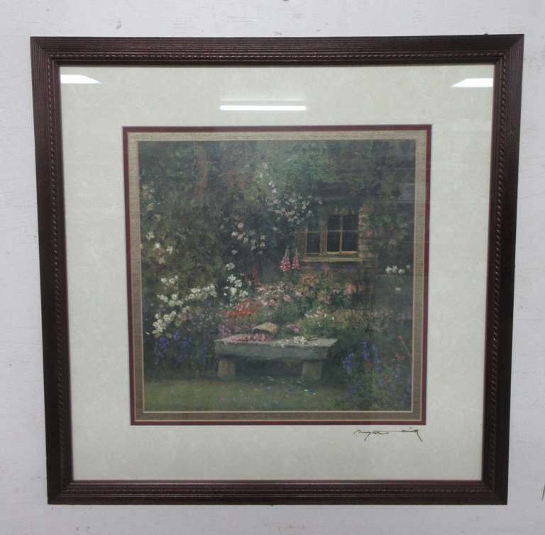 "Dwayne Warwick ""Little Brown Cottage"" Signed Fine Art Print, Matches Lot No. 26"