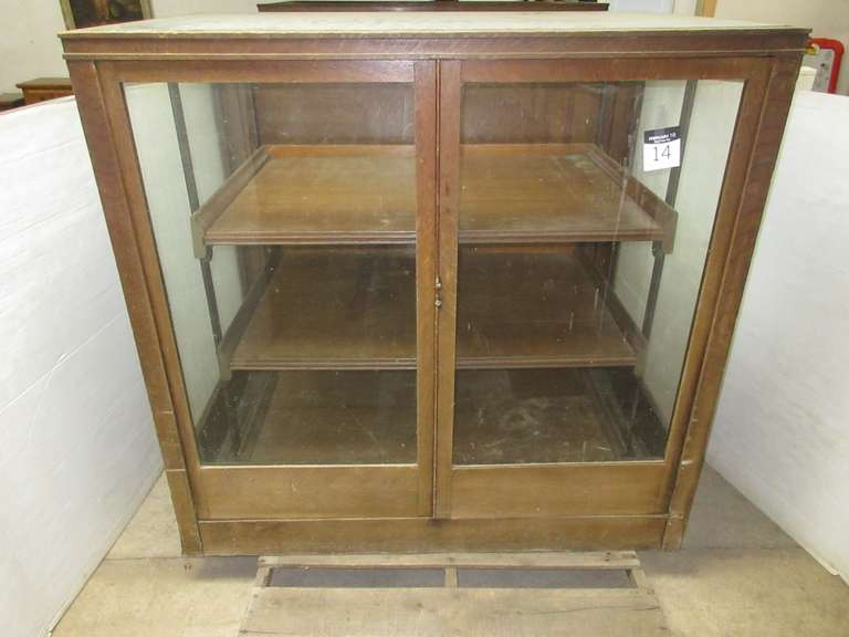 Antique Apothecary Cabinet, Matches Lot No. 13