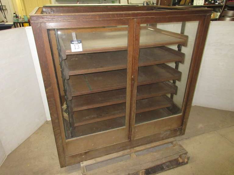 Antique Apothecary Cabinet, Matches Lot No. 14