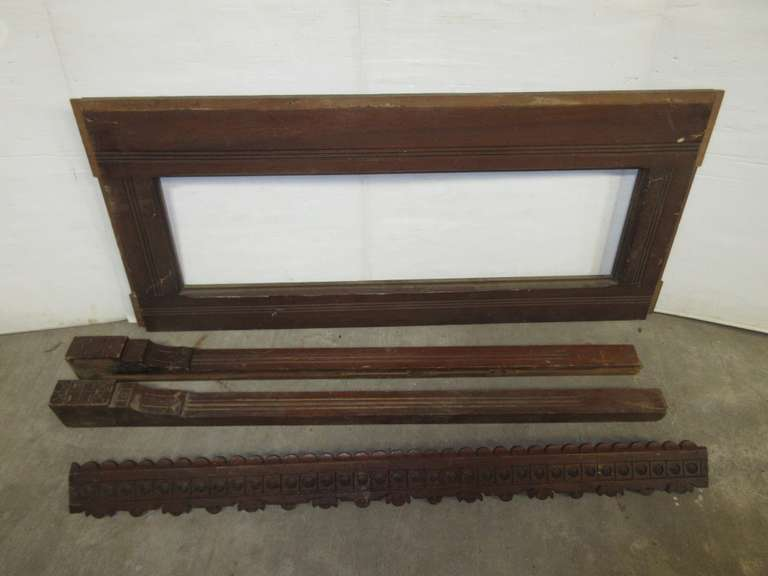 Antique Headboard in Pieces