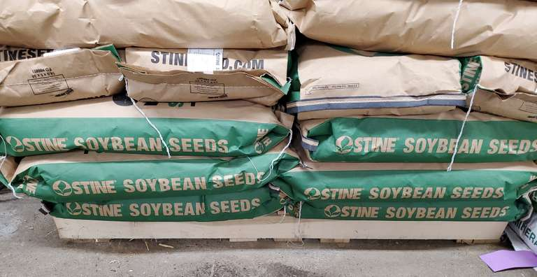 (25) Bags of 2019 Stine 20F26 Conventional Soybean Seed, 52.25 Pounds per Bag, Stored in Climate Controlled Building
