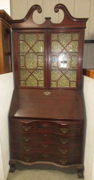 Curio Cabinet, Bottom Drawers are Locked