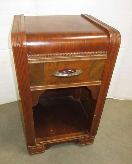 Antique Night Stand with Drawer, Matches Lot Nos. 33, 34, and 6235