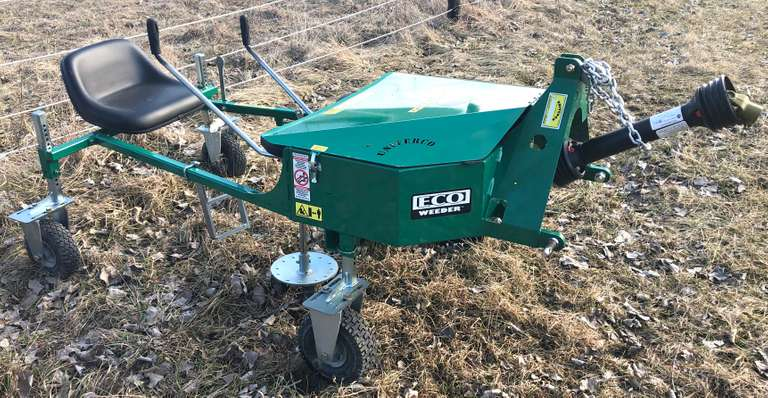 2019 Univerco Eco-Weeder, One-Row Unit, Used on 10 Acres, Like New