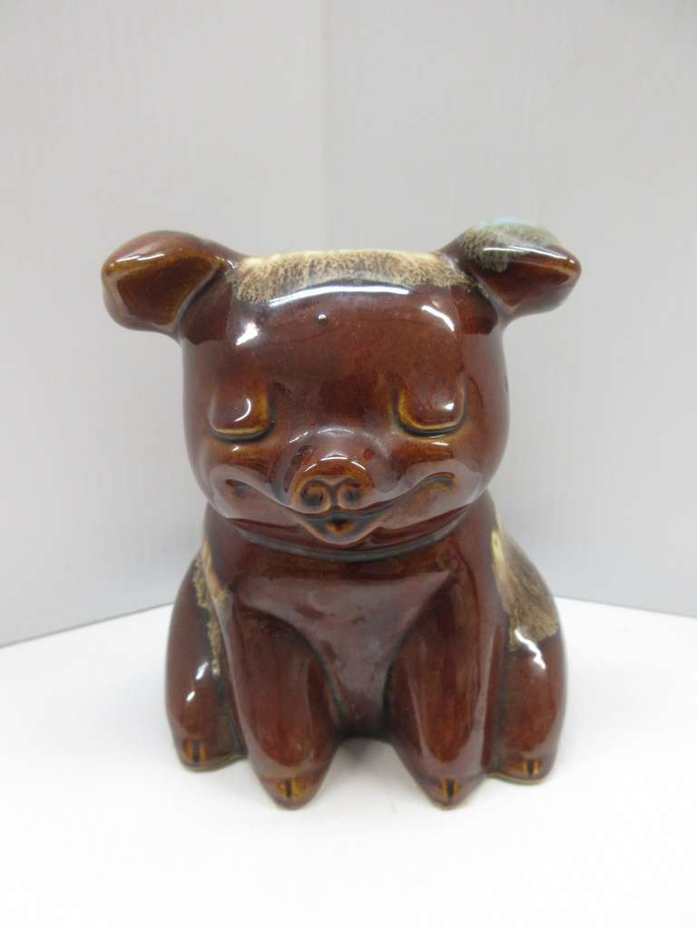 Hull Pottery Piggy Bank