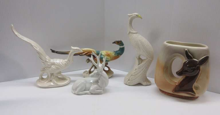 (5) Various Older Animals, Glass