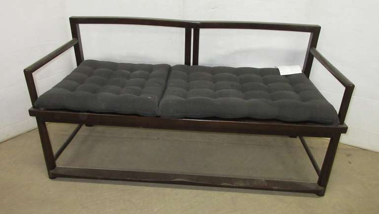 IKEA Loveseat, Made from Exotic Zebra Wood, Very Heavy and Durable